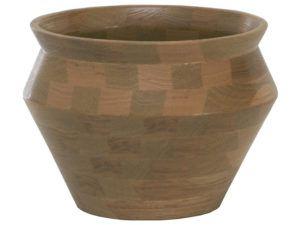 Wooden Vase Bowl (Oak Wood)