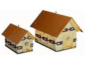 Woven Birdhouse Basket (Large and Small)