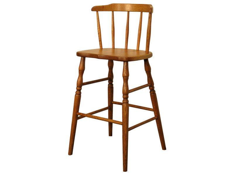 Amish Oak Wrap Around Youth Chair Brandenberry Amish