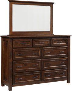 Belwright Dresser and Mirror