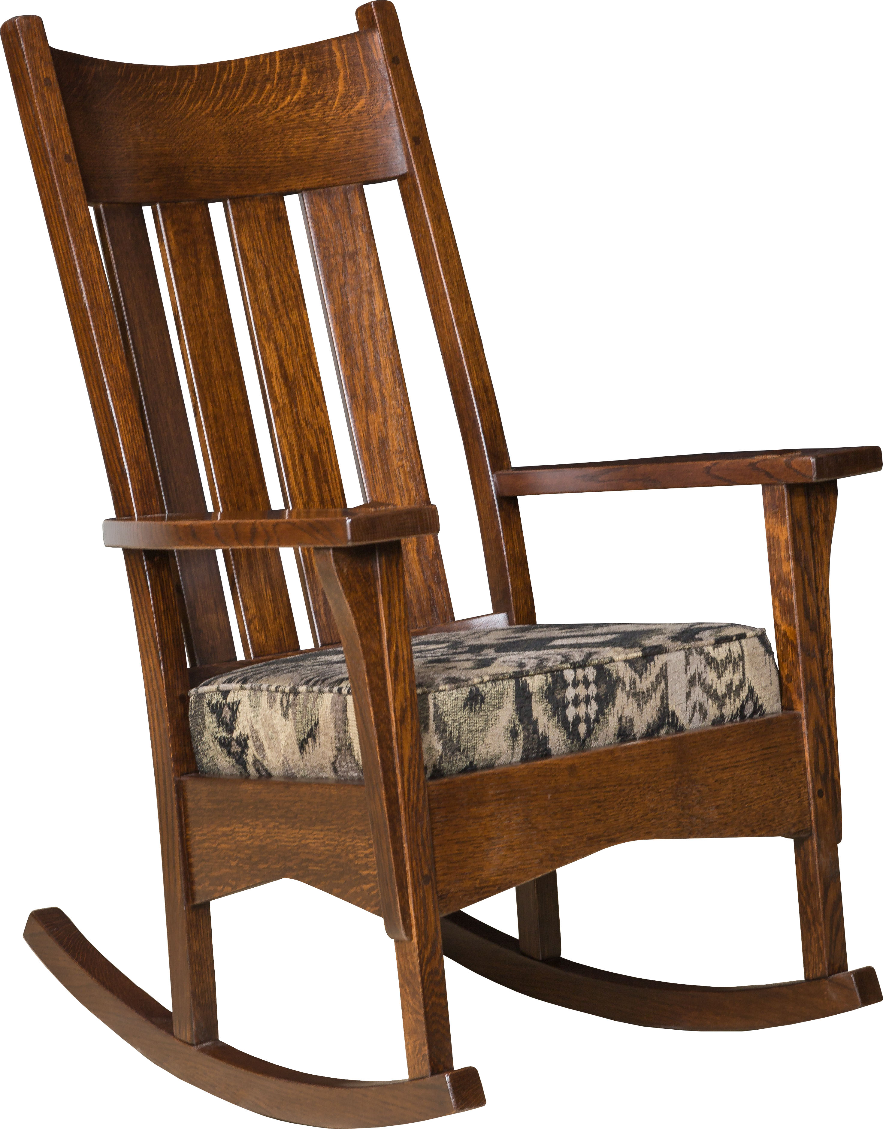 Artisan Mission Rocker Brandenberry Amish Furniture