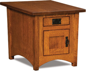 Arts and Crafts Cabinet End Table