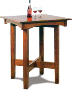 Arts and Crafts Pub Table