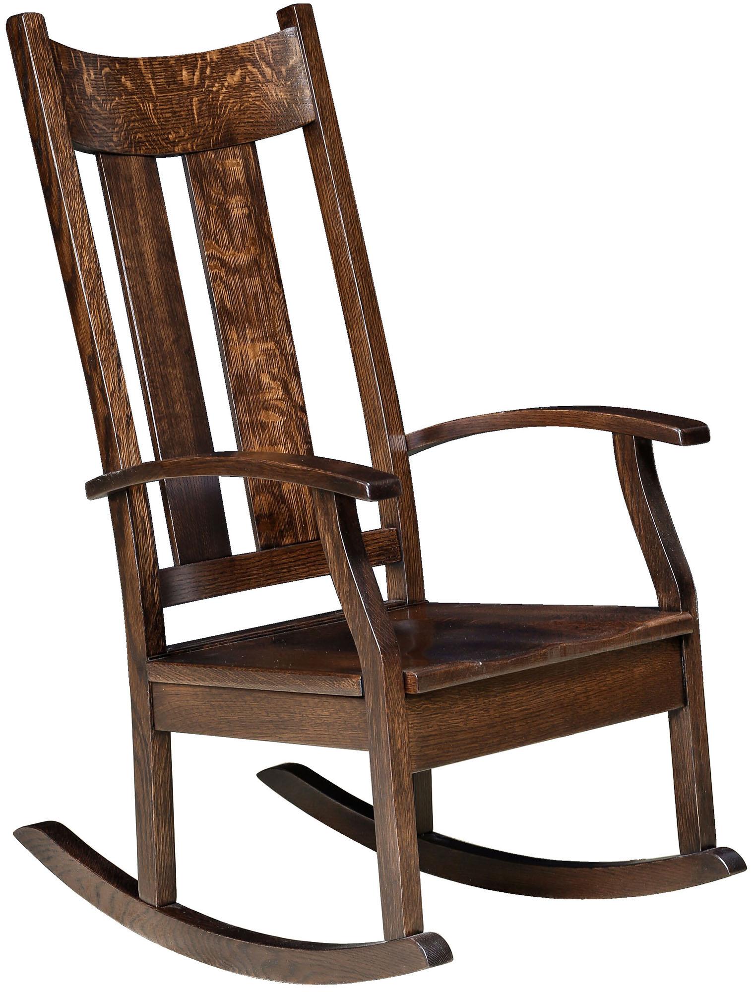 Amish Aspen Rocker Brandenberry Amish Furniture