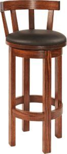 Amish Barrel Bar Stool
