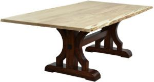 Barstow Live Edge Dining Table