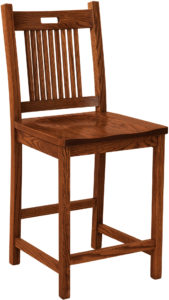 Bay Hill Stationary Bar Stool