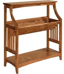 Amish Bookshelf Stand