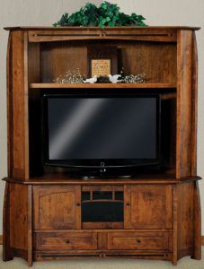 Boulder Creek Corner Entertainment Center