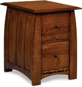 Boulder Creek Two Drawer Filing Cabinet