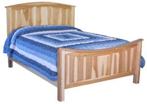 Amish Hickory Bow Bed