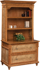 Bridgeport Lateral File Cabinet with Hutch