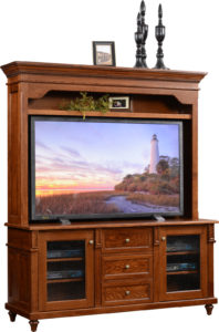 Bridgeport TV Stand with Hutch
