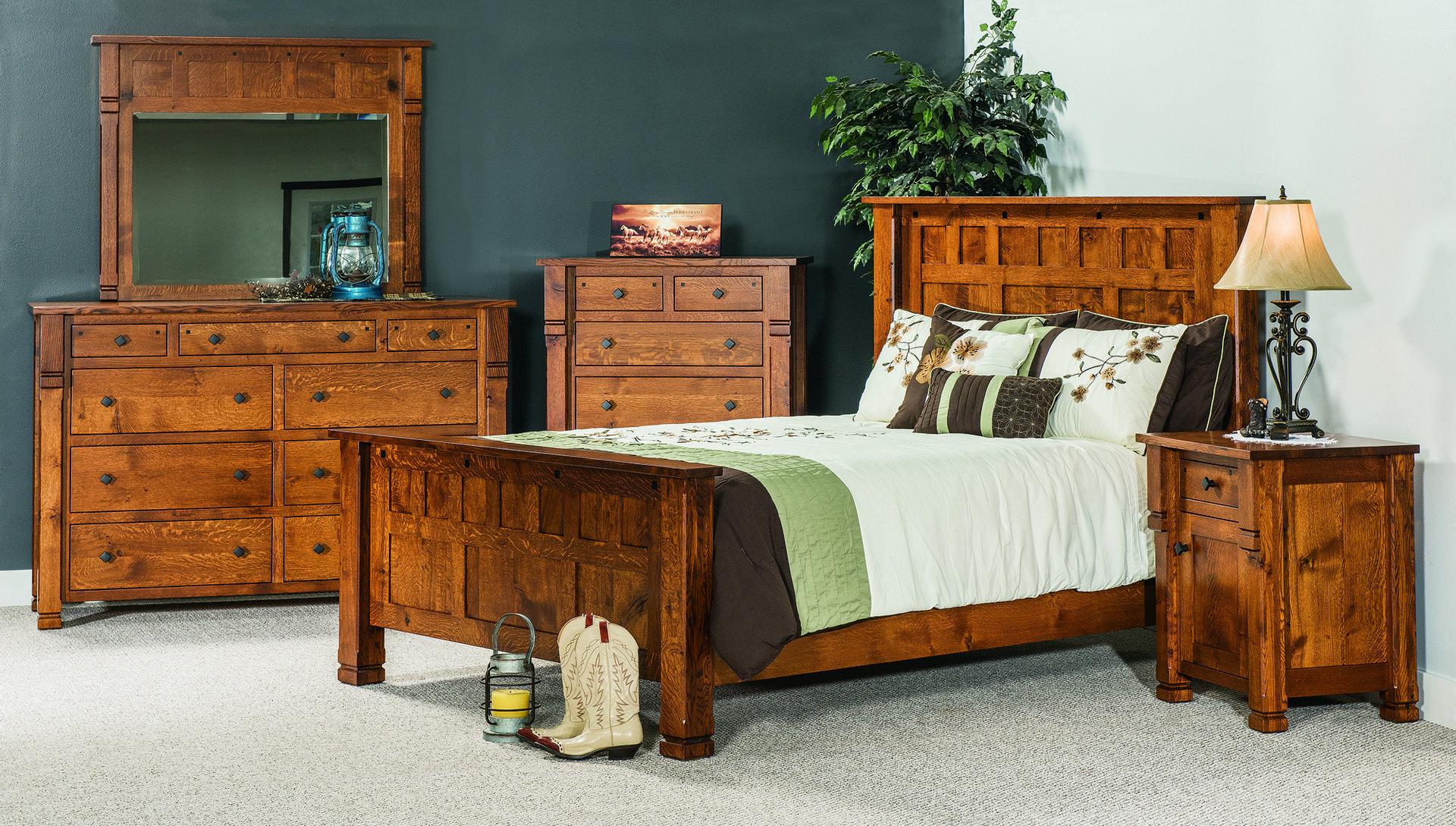 Brockport Bedroom Set Brandenberry Amish Furniture