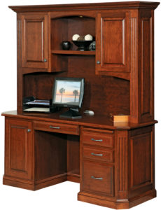 Buckingham Series Credenza with Hutch