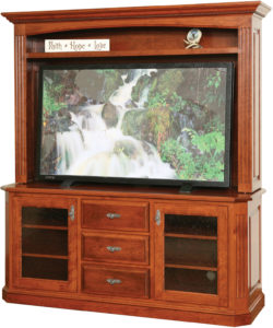 Buckingham TV Stand with Hutch