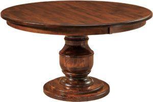 Burlington Single Pedestal Dining Table