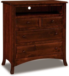 Carlisle Four Drawer Media Chest