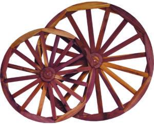 Cedar Decor Wheels