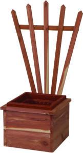 Cedar Fan Planter