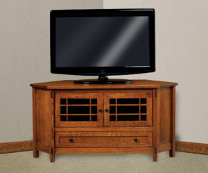 Centennial Two Door Corner TV Stand