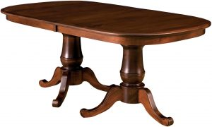 Chancellor Double Pedestal Table