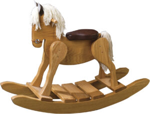 Classic Rocking Horse-Padded Seat