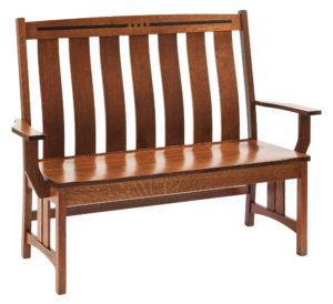 Colebrook Wooden Bench
