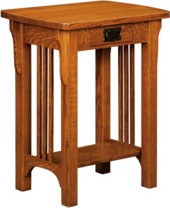 Craftsman Mission Collection Telephone Stand
