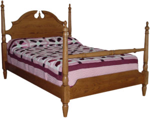 Crown Four Post Bed