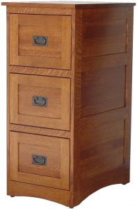 Amish-crafted Mission File Cabinet