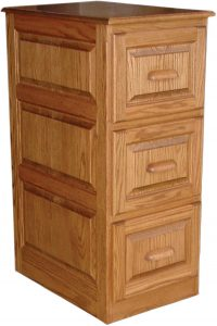 Raised Panel File Cabinet