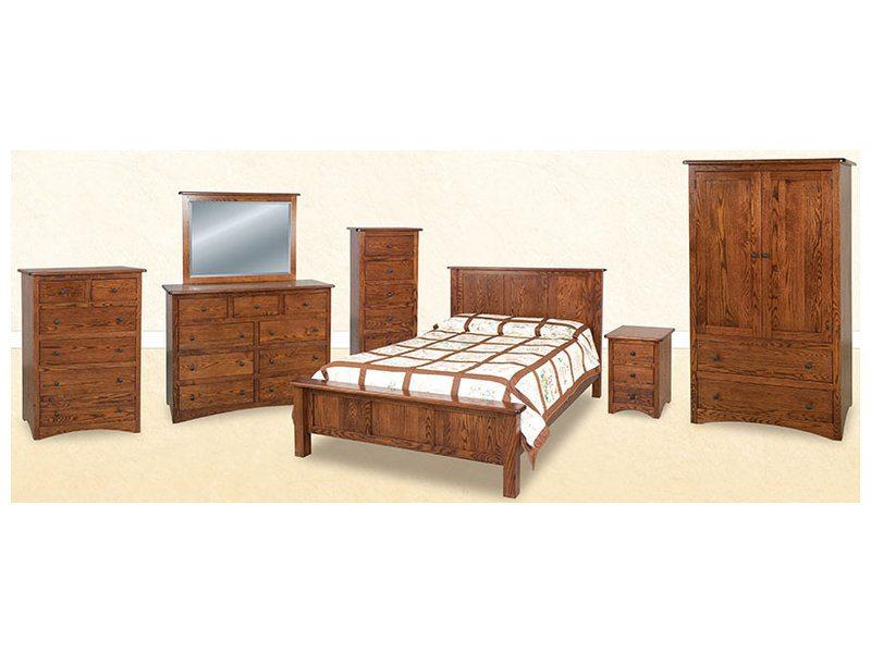 Mission Economy Bedroom Suite