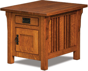 Elliot Cabinet End Table