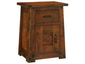 Encada 1 Door, 1 Drawer Nightstand