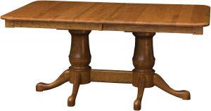 Estate Double Pedestal Table