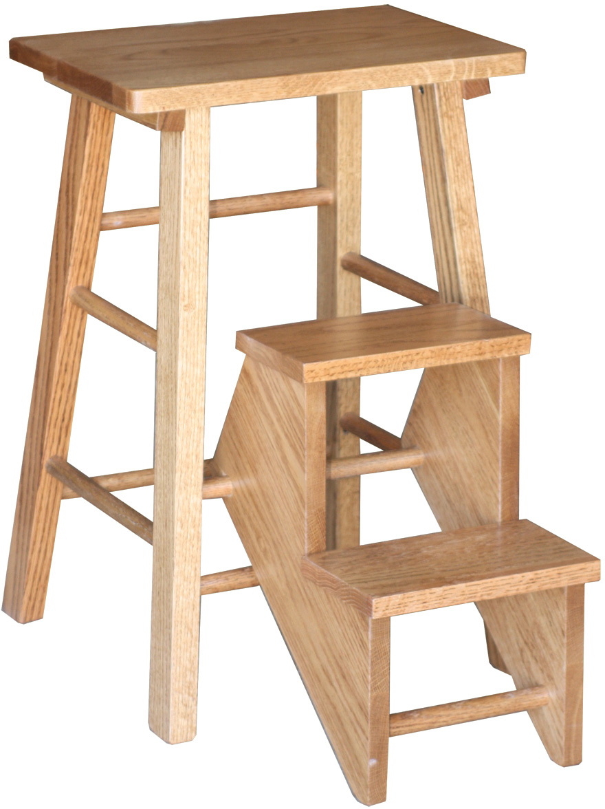 Bed Step Stool: Amish Folding Step Stool