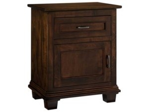 Francine One Door, One Drawer Nightstand