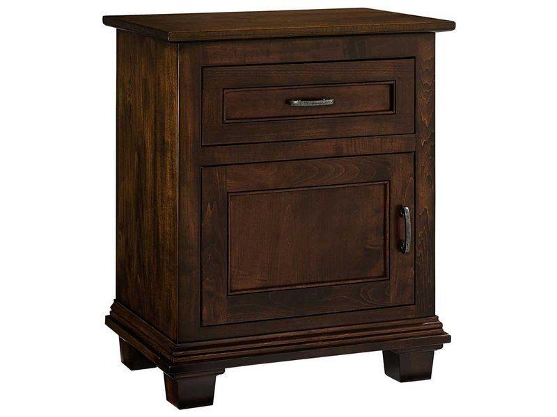 Francine One Door, One Drawer Nightstand