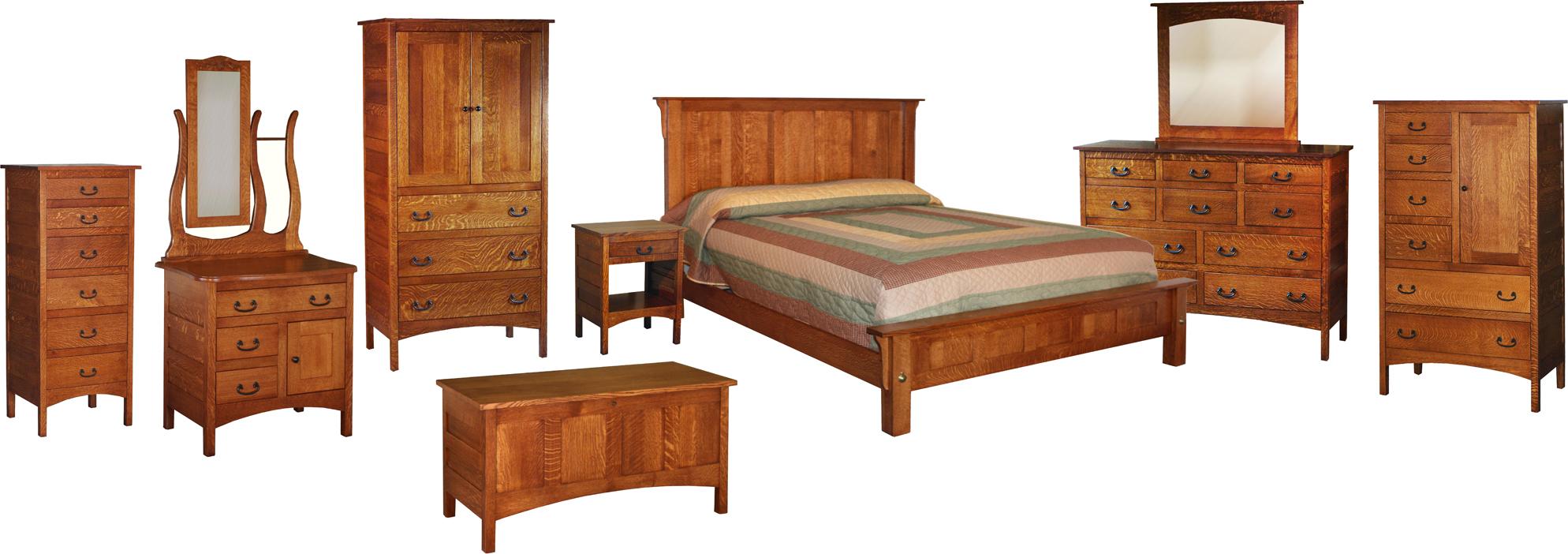 Bedroom sets amish bedroom collection brandenberry for Amish bedroom furniture