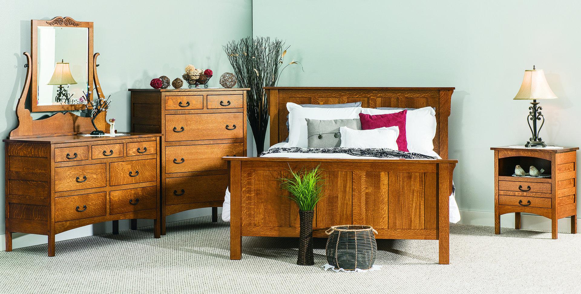 Granny Mission Bedroom Set Brandenberry Amish Furniture