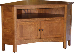 Granny Mission Corner TV Cabinet
