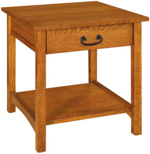 Granny Mission One Drawer End Table