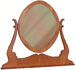 Granny Mission Oval Mirror