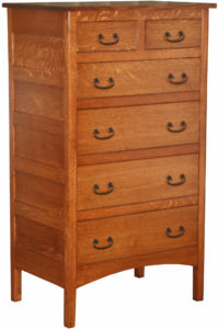 Granny Mission Six Drawer Chest