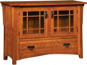Greenwood Mission Plasma TV Cabinet