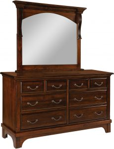 Hamilton Court Eight Drawer Dresser