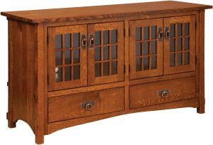 Harmony Mission Four Door Plasma TV Cabinet