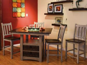 Heidi Cabinet Table Dining Set
