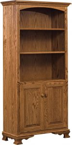 Heritage Bookcase with Doors 32""